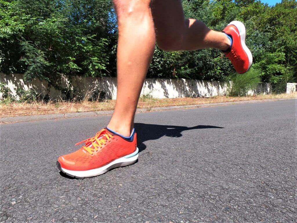 Une chaussure de running idéale pour le déroulé de la foulée