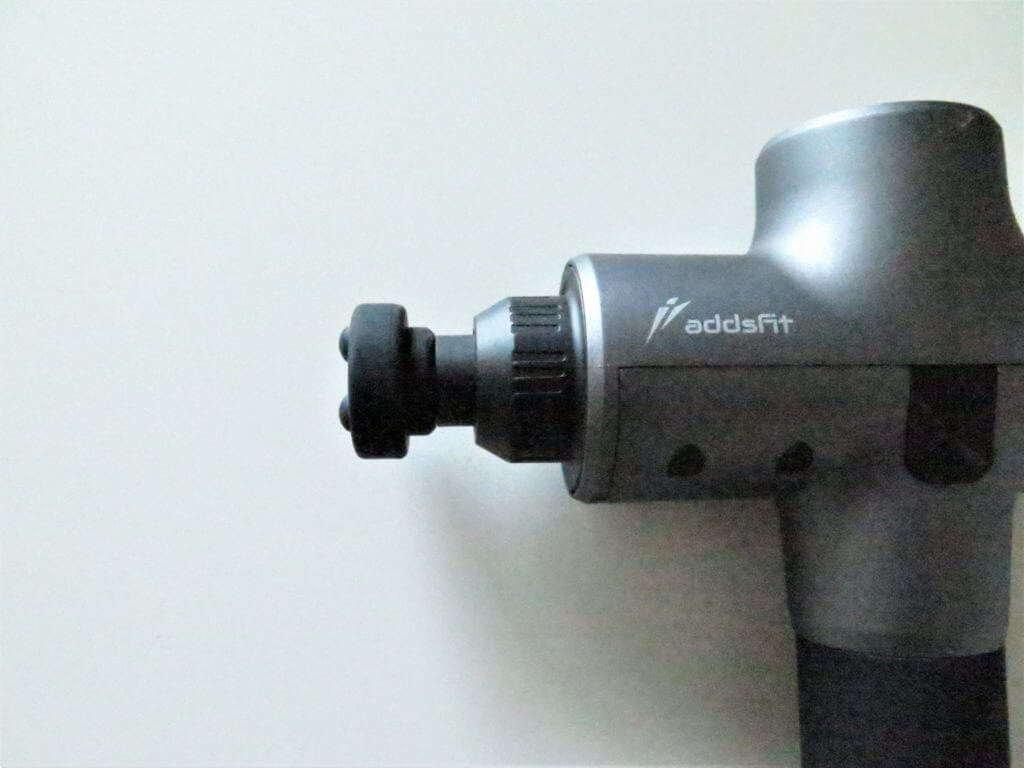 Pistolet de massage Addsfit: l'embout Triggered Flat