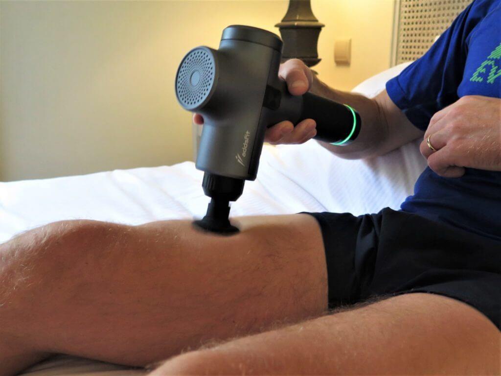 Test du pistolet de massage pour mieux récupérer