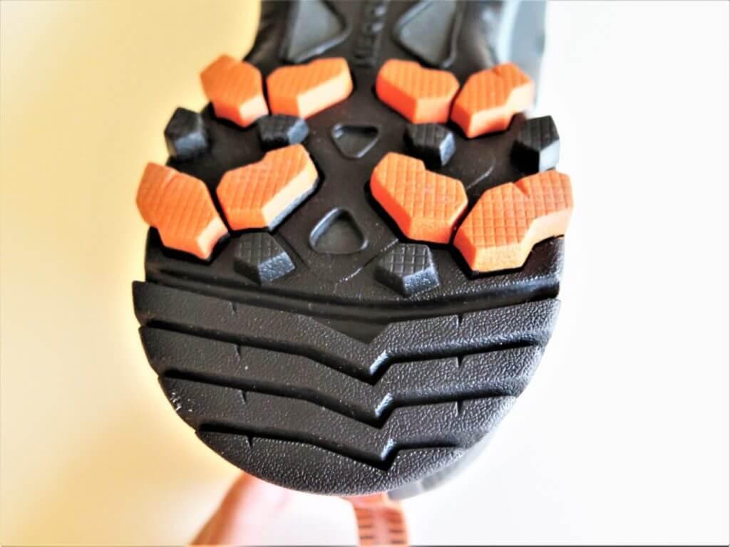 Merrell MQM Flex 2: les crampons arrière