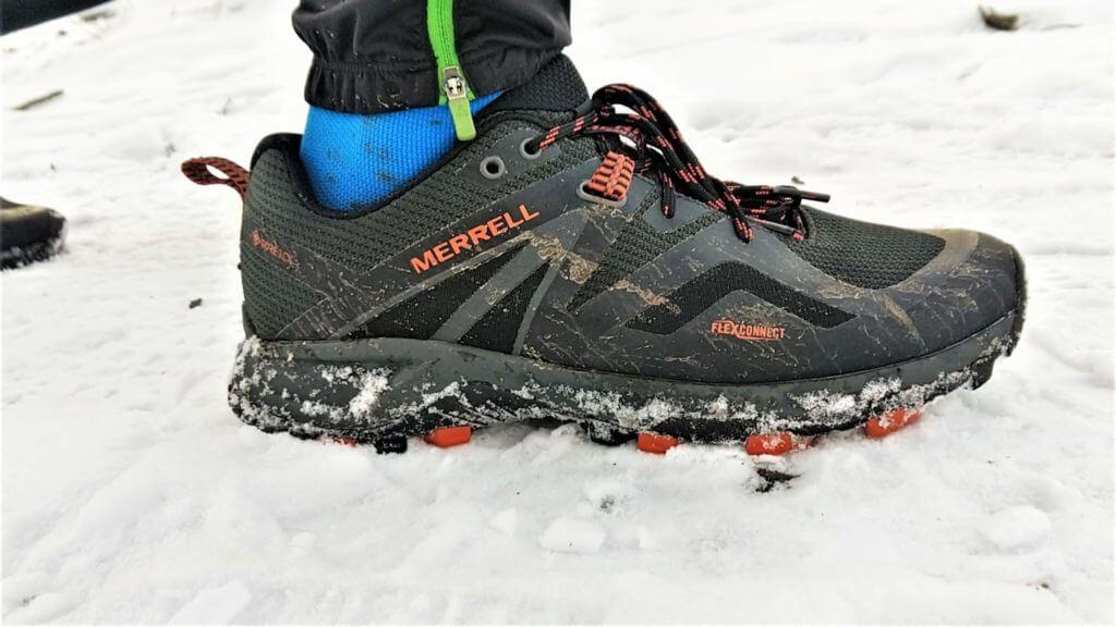 Test de la Merrel MQM Flex 2 GTX sur la neige