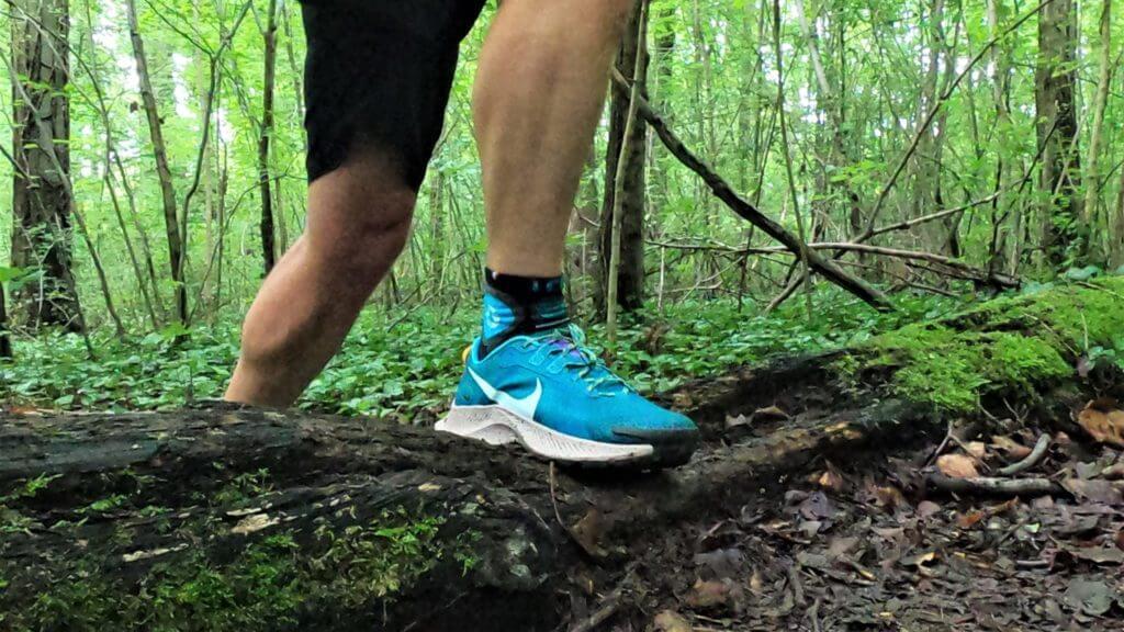 Test d'une chaussure de trail Nike